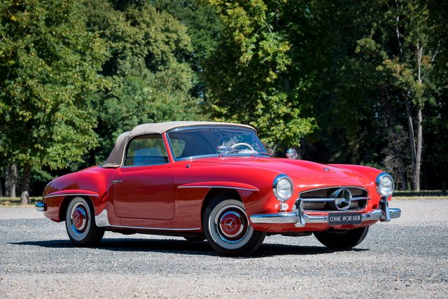 1959 Mercedes-Benz 190 SL Roadster  Première main condition d'origine exceptionnelle / Original condition One owner from new