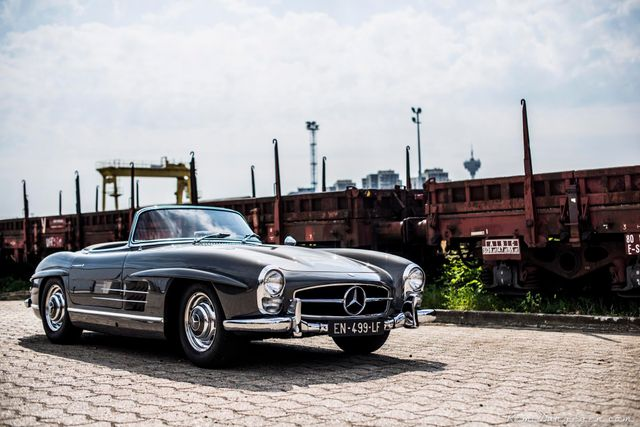 1962 Mercedes-Benz 300 SL Roadster Factory Disc brakes / RESERVED