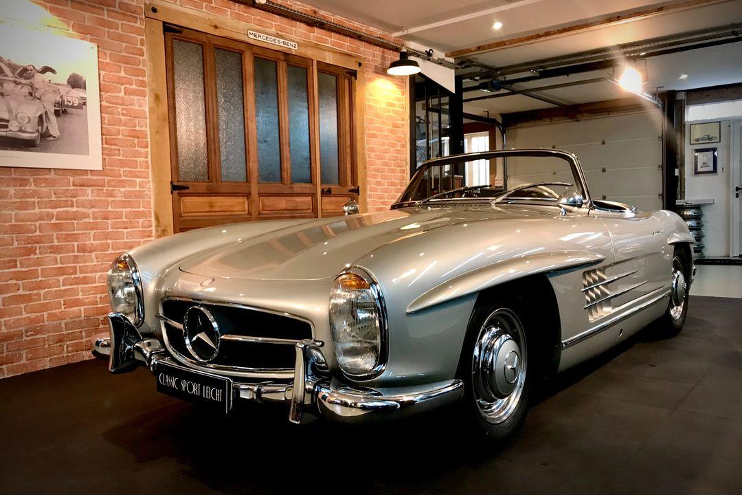 1962 Mercedes-Benz 300 SL Roadster Factory Disc brakes / Freins à disques usine Hard-top