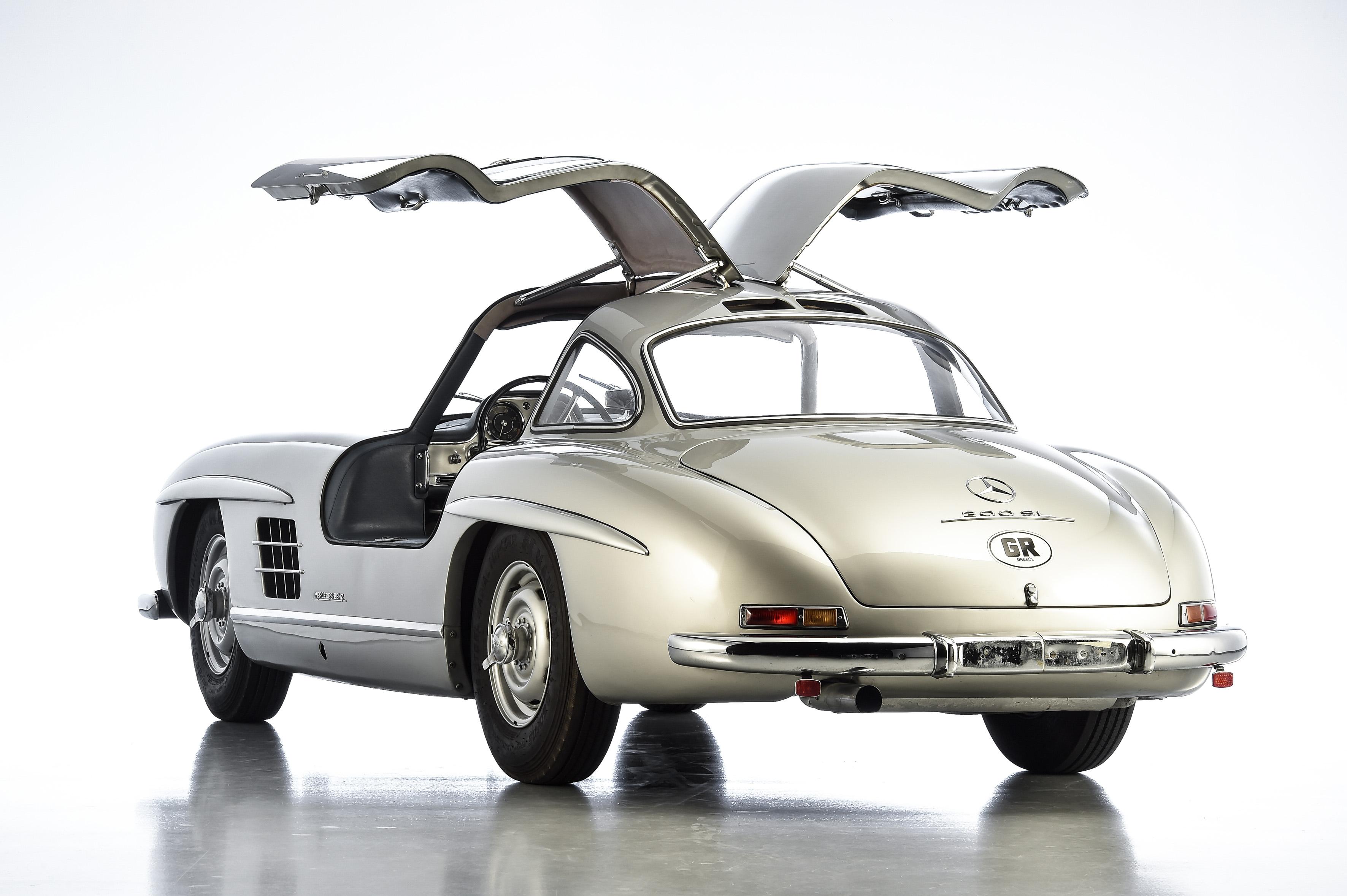 mercedes benz  sl gullwing aluminium case study classic sport leicht