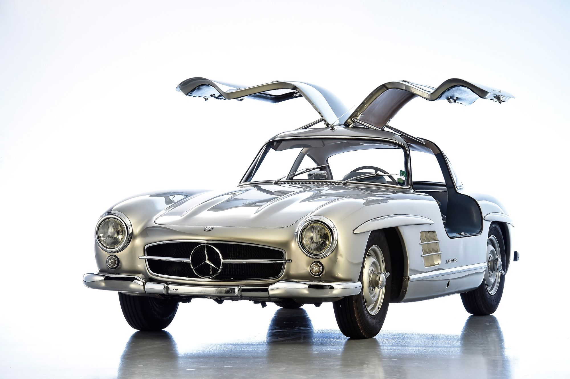 1955 Mercedes-Benz 300 SL Gullwing Aluminium