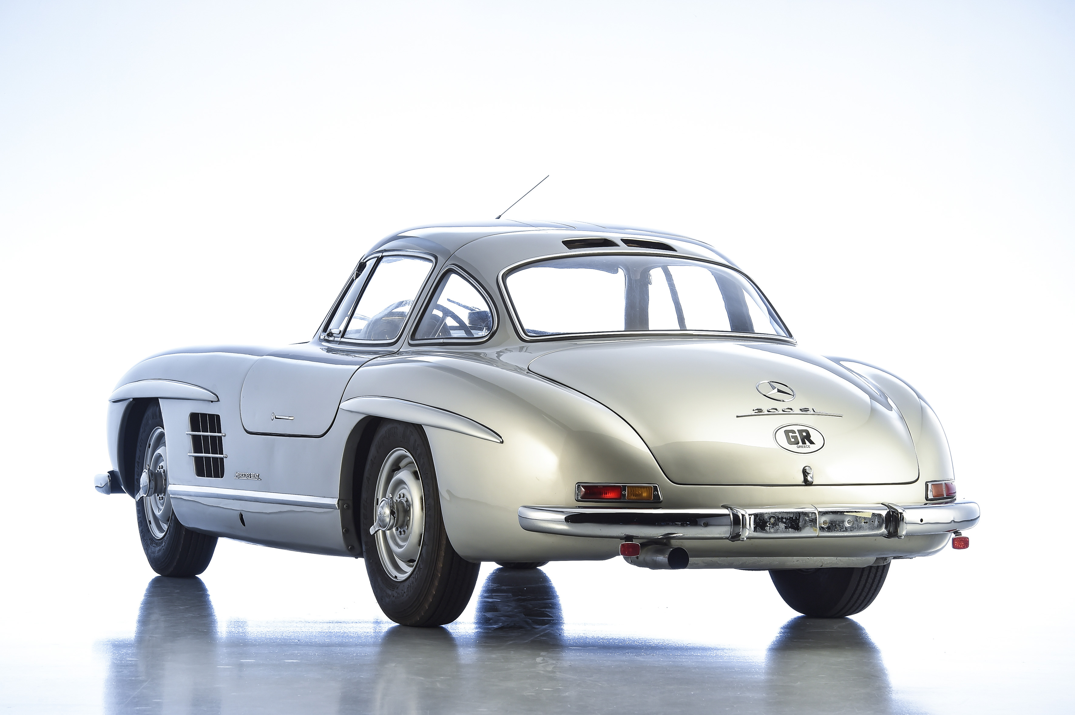 1955 mercedes benz 300 sl gullwing aluminium for sale. Black Bedroom Furniture Sets. Home Design Ideas
